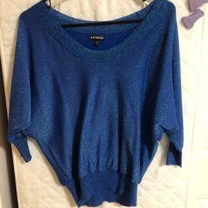 Blue Shimmer Shirt